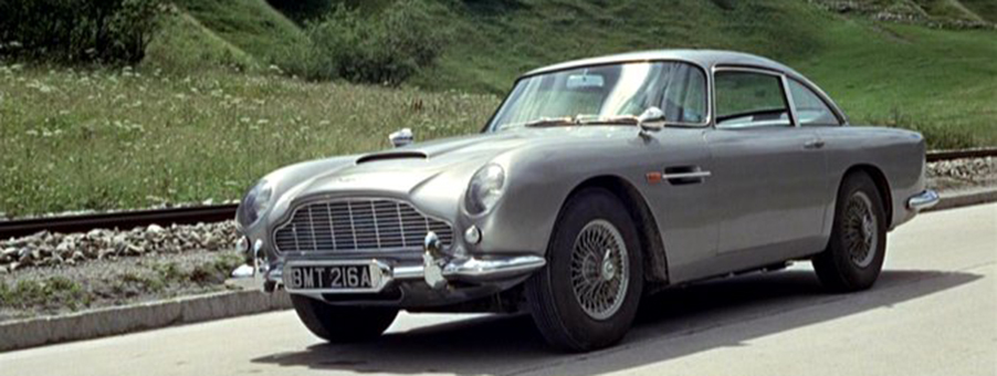 Cars and James Bond - the 1960s