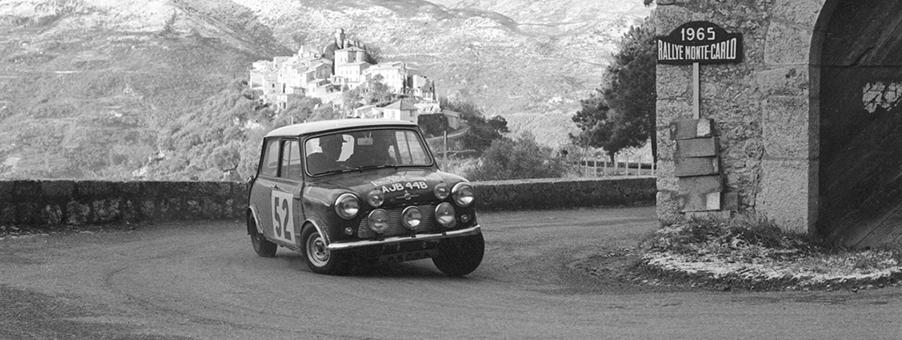 Mini Cooper Rally Success