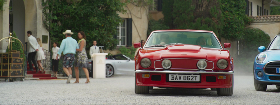 Johnny English Drives An Aston Martin V8 Vantage Oscar India