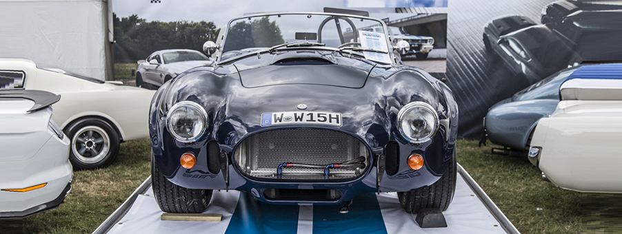 UK and USA Collaboration Creates AC Cobra Sports Car