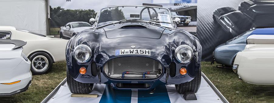 UK and USA Collaboration Creates AC Cobra Sports Car