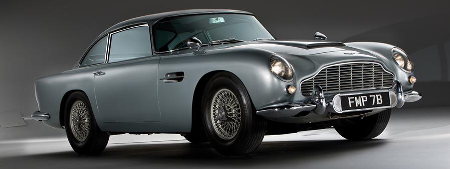 Aston Martin DB5 Speed Clocked By SMITHS Gauges