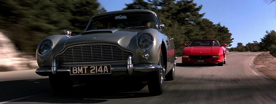 Aston Martin DB5 from GoldenEye On Sale At Goodwood