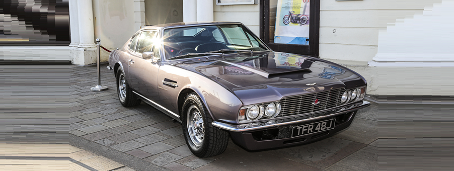 Classic Aston Martin DBS Featuring SMITHS Gauges