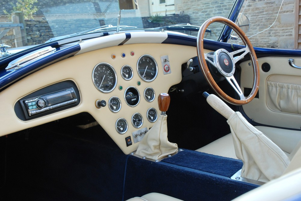 Smiths Gauges Designed And Supplied For The Cobra Sports Car