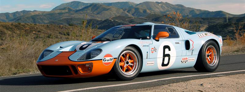 In  With Henry Ford Ii In The Stands The Mkii Gt Won Le Mans It Was The First Time That An American Manufacturer Had Won The Famous Endurance Race