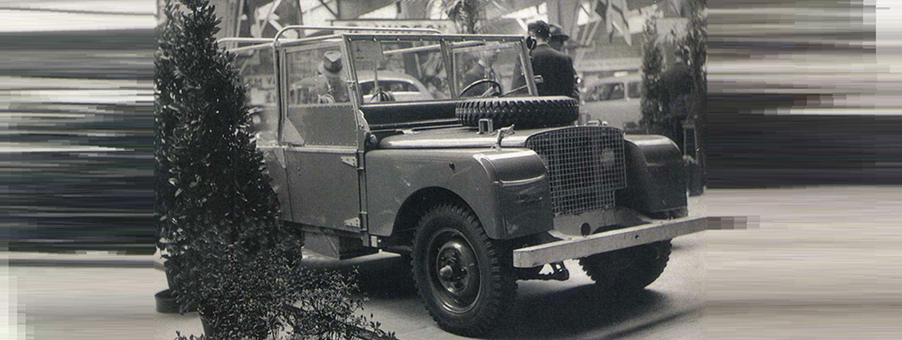 Original 1948 Land Rover with SMITHS Gauges