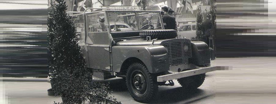 Original 1948 Land Rover with SMITHS Gauges