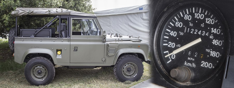 Land Rover Wolf Gives Robust Military Service