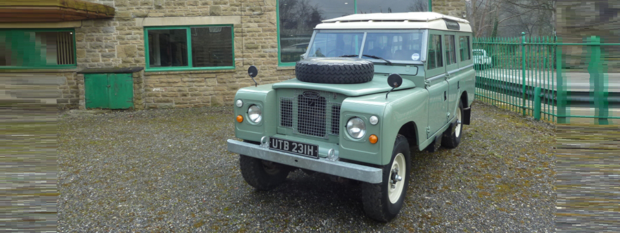 History of Land Rover Series IIA and Smiths Gauges