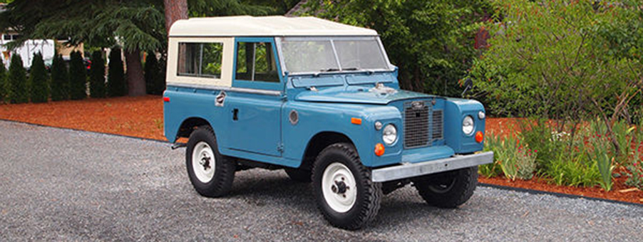History of Series II Land Rover and Smiths Gauges