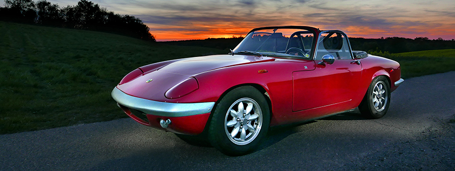 Classic Lotus Elan Corners The Sixties