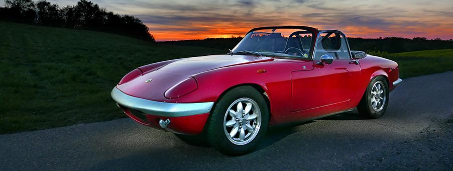 Classic Lotus Elan Corners The Sixties