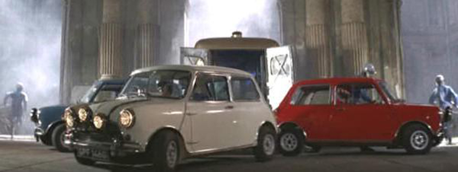 Mini History Starring in The Italian Job