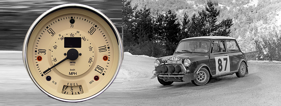 New Electronic Speedometer for Mini Cooper S