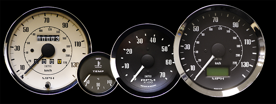 History of Smiths Gauges for the MG 1966 to 1967