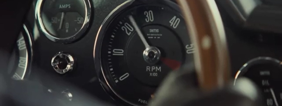 Smiths Speedometer features in James Bonds SPECTRE