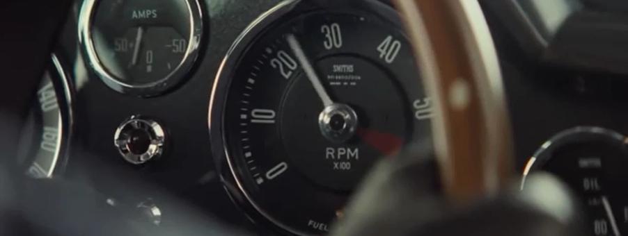 Smiths Speedometer features in James Bonds SPECTRE