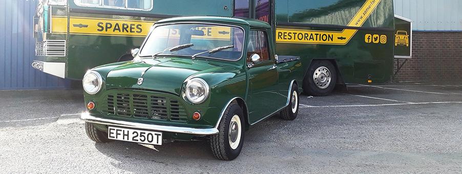 1978 Austin Morris Mini Pickup Restoration