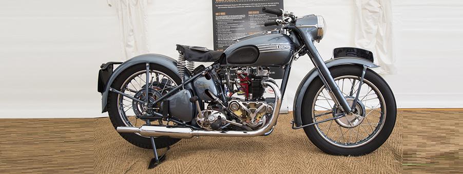 SMITHS Speedometer Measures Speed of Triumph 6T Thunderbird Motorcycle