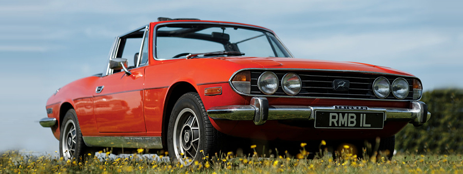Triumph Stag and SMITHS Instruments History