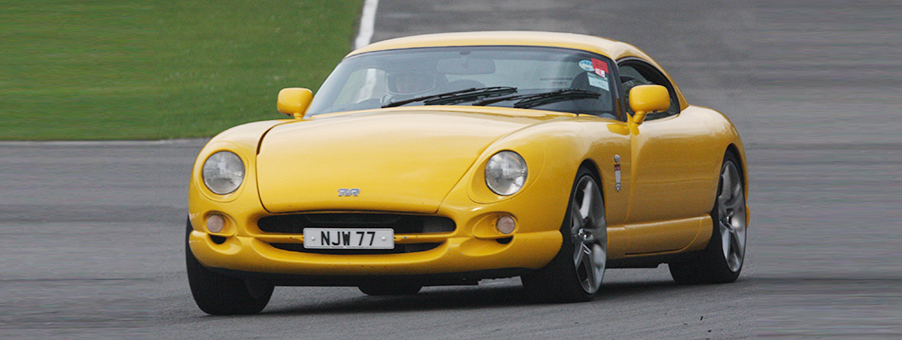 Clocking the speed of the TVR Cerbera
