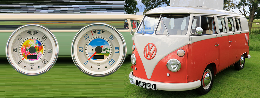 Bespoke SMITHS Gauges for VW Campers