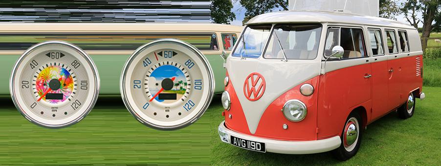 Bespoke SMITHS Gauges for VW Campers