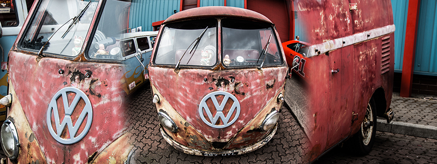 Classic Gauges for VW Patina Vans