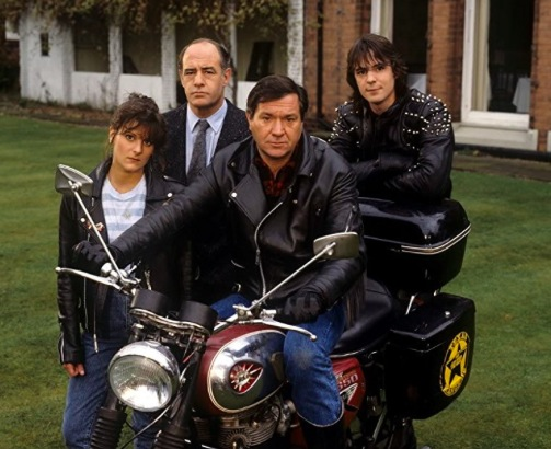 BSA Lightning Motorcycle Star of Film and Television